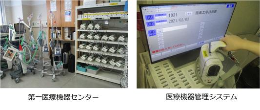 医療機器管理部門